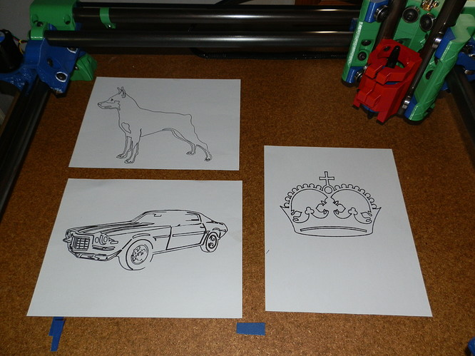 Better view of drawings