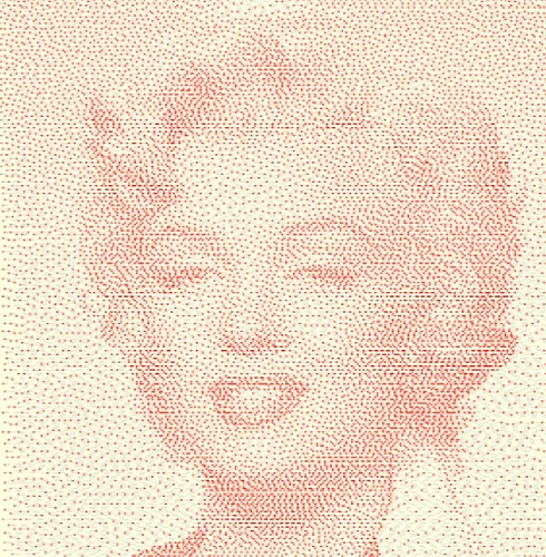 Marilyn_dithered