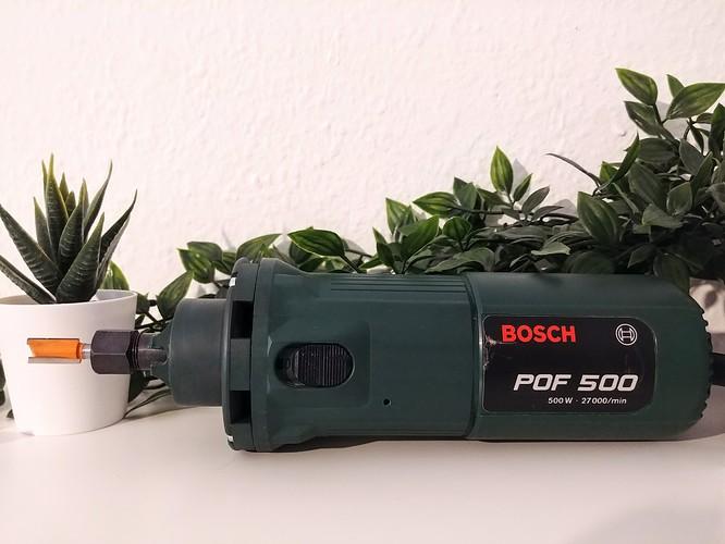 Bosch POF 500
