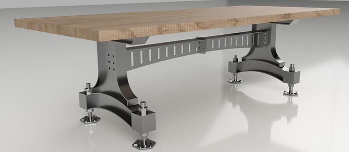 Heavy Dining Room Base Render
