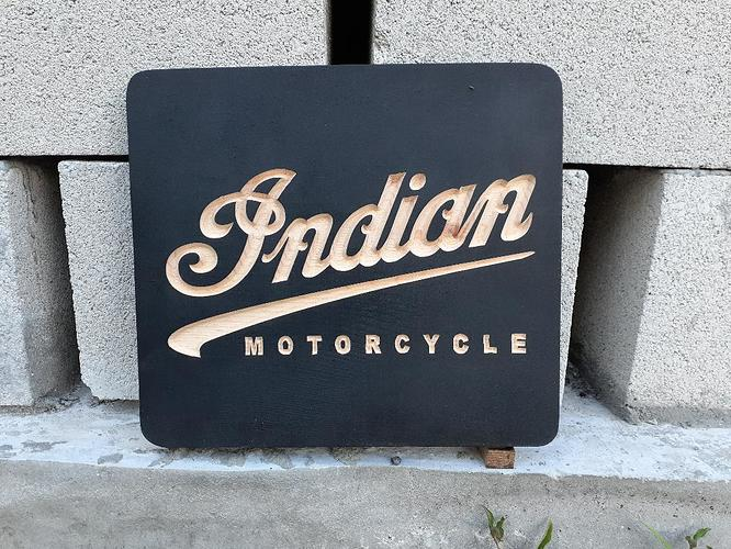 Indian Motorcycle Carve