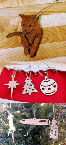 Post Little Ornaments