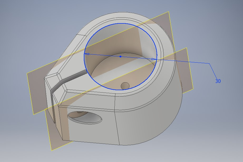 30mm food holder_CAD