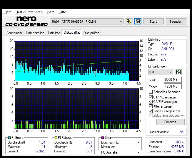 354 Intenso DVD+R 16x (AML 003) Vater 354 Pioneer BDR-212E 1.01 Scan LiteOn iHAS 324F Q95 (G2021-S2021)