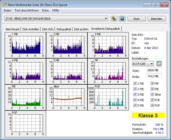 MediaRange DL 8x Ume ihbs 4x scan BenQ erw1