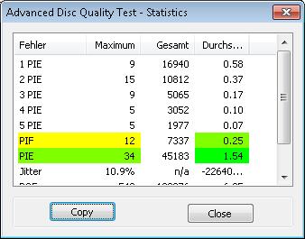 MediaRange DL 8x Ume BDR 4x 2 scan BenQ erw2