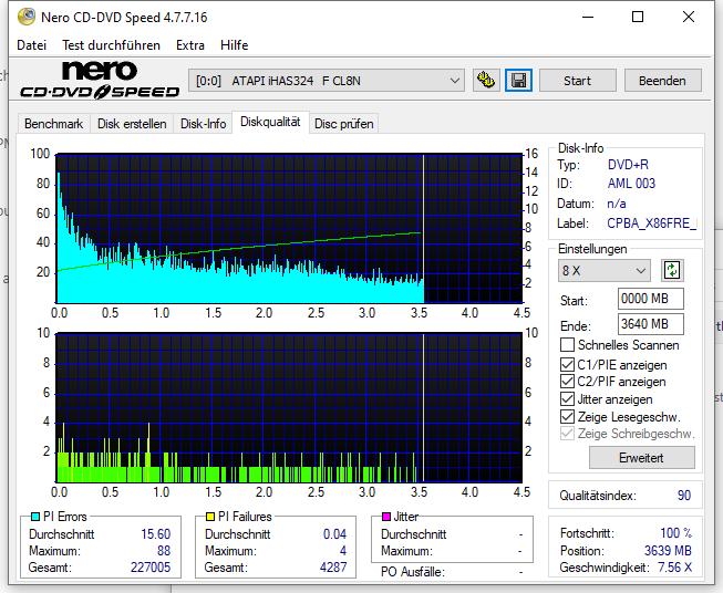 531 Intenso DVD+R 16x Printable (AML 003) W10-32bit V2004 Update 2021-02 LiteOn iHAS 124F CLDM Scan LiteOn iHAS 324F Q90 (G2021-S2021)