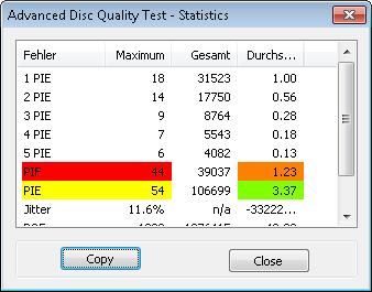 MediaRange DL 8x Ume BDR 4x 1 scan BenQ erw2