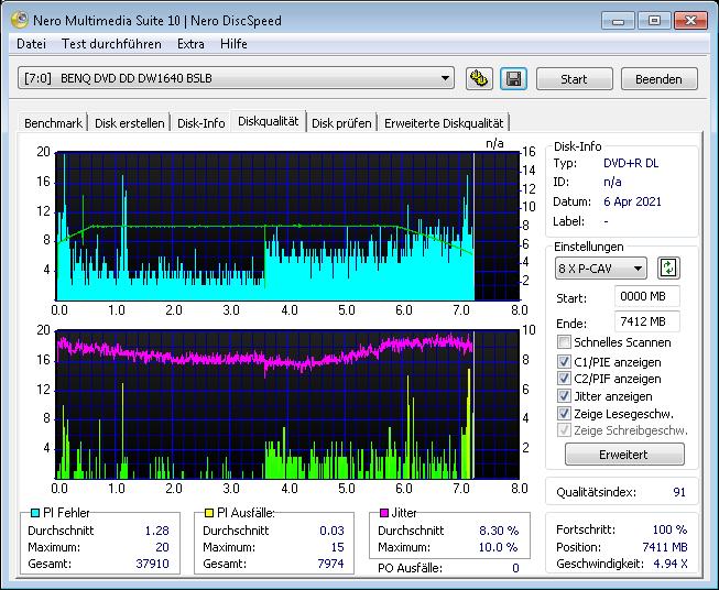 MediaRange DL 8x Ume ihbs 4x scan BenQ